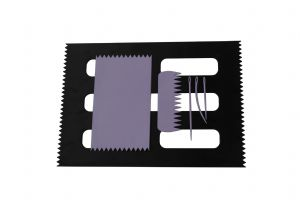 Weaving Loom Boards Set, LILAC 95 x 160mm & BLACK A4 Size, Comb & Needles. S7801